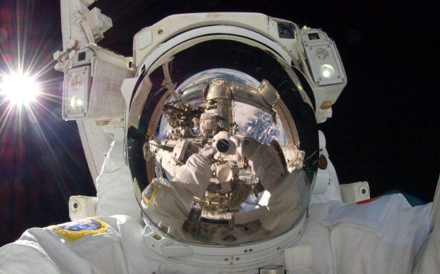 astronaut selfportrait