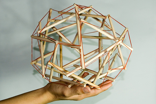 TENSEGRITY on hand