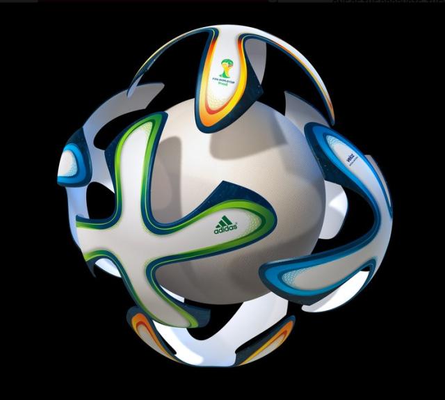 brazuca exploded ball