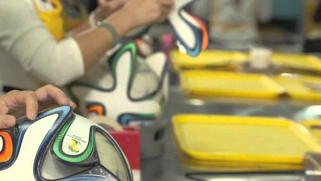 brazuca manufactured