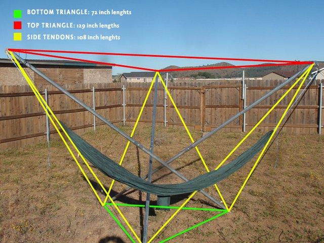 tensegrity-6 hammock
