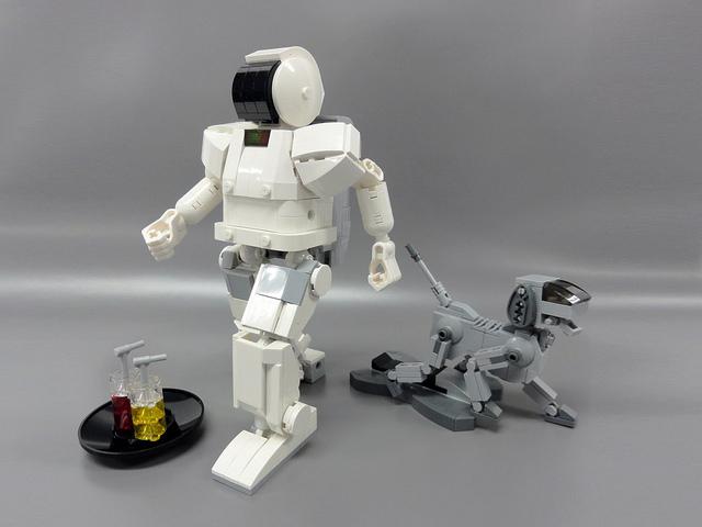 ASIMO lego