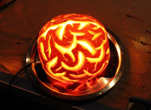 Pumkin brain